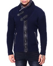 Buyers Picks - Pu Trim Cardigan-2427838