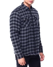 The Camper - Buffalo Plaid Fleece Lined Jacket-2427675