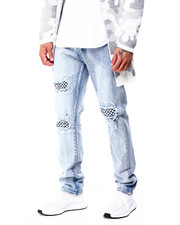 Jeans - Checkerboard Patch Jean-2427562