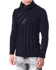 Buyers Picks - Buckle Detail Shawl Collar Sweater-2427913