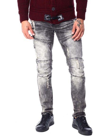 SWITCH - Distressed Moto Jean
