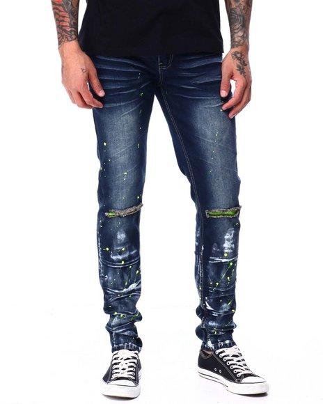 SWITCH - Neon colorsplash jean
