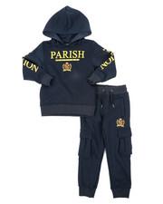 Parish - Fleece Pop Over Hoodie Set (4-7)-2428032