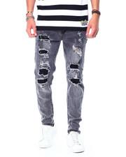 Jeans - RIP AND REPAIR GREY WASH JEAN-2426709