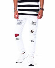 Jeans & Pants - RIP AND REPAIR JEAN W ANIMAL PRINT PATCHES-2426702