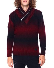 Buyers Picks - Ombre Shawl Collar Sweater-2428283