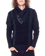 Buyers Picks - Shawl Collar Zip Detail Sweater-2428263