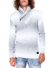Buyers Picks - Ombre Shawl Collar Sweater-2428288