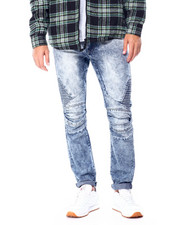 Jeans - Cloud Wash Moto Jean-2428345