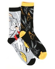 Men - Bugs Basketball 2 Pack Crew Socks-2428526