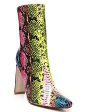 Fashion Lab - Zip Up Slim Heel Bootie-2428627