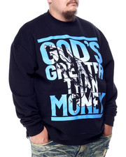 Men - God's Greater Than $ Sweatshirt (B&T)-2428547