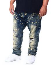 Makobi - Makobi Jeans W/Plaid Contrast (B&T)-2423189