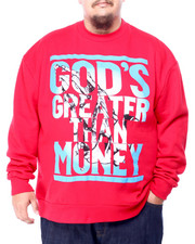 Men - God's Greater Than $ Sweatshirt (B&T)-2428572