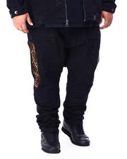 Makobi - Makobi Leopard Panel Jeans (B&T)-2425097