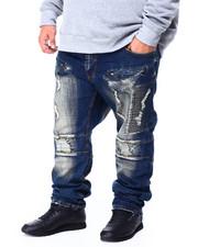Makobi - Makobi Moto Side Biker Jeans (B&T)-2428613