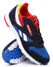 Reebok - CL Leather Color Block Sneakers (3.5-7)-2428684