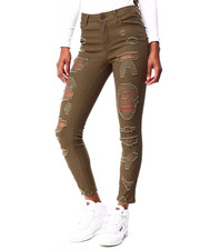 Jeans - High Rise Destructed Ankle-2424806