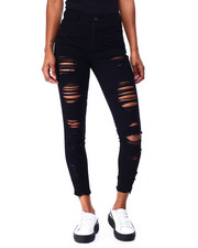 Jeans - High Rise Destructed Ankle-2424814