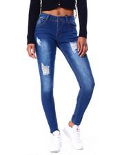 Jeans - Ripped 5 Pkt Skinny Jean-2424788