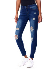 Jeans - Destructed 5 Pkt Skinny Jean-2425438
