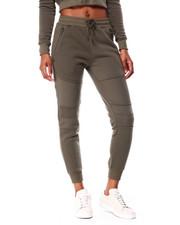 Women - Fleece Moto Jogger W/Zip Pkts-2426199