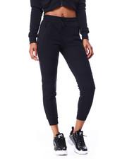 Athleisure for Women - Fleece Moto Jogger W/Zip Pkts-2426194