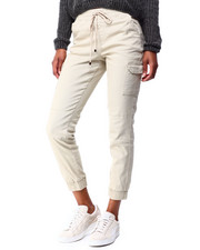 Women - Twill Pull On Cargo Jogger-2424769