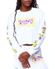 Graphix Gallery - Rugrats Fleece Skimmer Sweatshirt-2428383