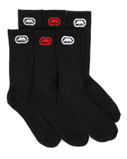 Ecko - 6 Pack 1/2 Cushion Crew Socks-2429177