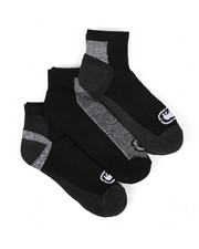 Ecko - 3 Pack 1/2 Cushion Quarter Socks-2429109