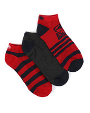 DRJ SOCK SHOP - 3 Pack 1/2 Cushion No Show Socks-2429088