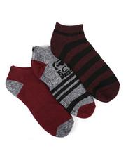 Men - 3 Pack 1/2 Cushion No Show Socks-2429087