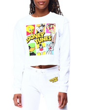 Graphix Gallery - Looney Tunes Fleece Skimmer Sweatshirt-2428388