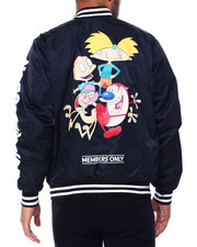 Outerwear - Nickelodeon Bomber Jacket - Arnold and Stimpey-2428982