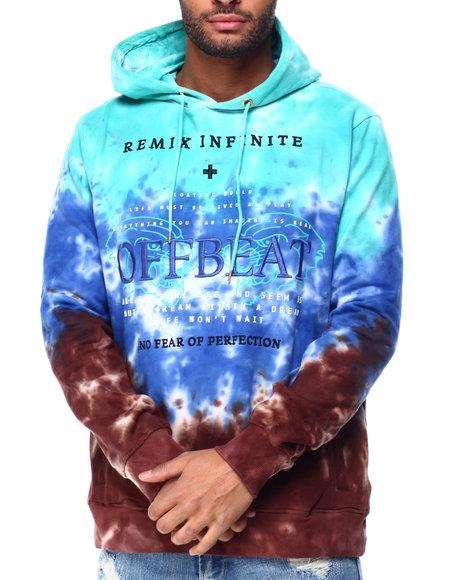 offbeat - REMIX INFINITE TIE DYE HOODIE