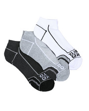 Socks - 3 Pack 1/2 Cushion No Show Socks-2429090