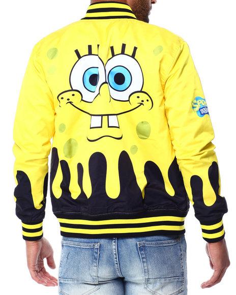 Freeze Max - Sponge Bob Comic Strip Reversible Jacket
