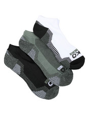 Socks - 3 Pack 1/2 Cushion No Show Socks-2429082