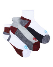Men - 3 Pack 1/2 Cushion Quarter Socks-2429106