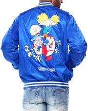 Members Only - Nickelodeon Bomber Jacket - Arnold and Stimpey-2428971