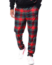 Parish - PLAID TRACK PANT-2429320