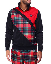 Parish - PLAID TRACK JACKET-2429325