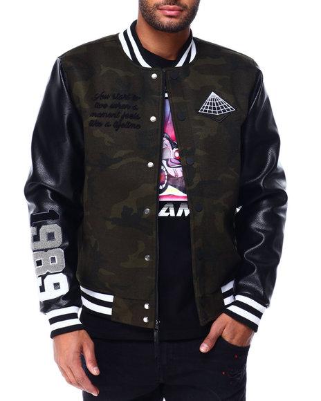 Black Pyramid - Core Logo Varsity Jacket