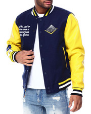 Mens-Winter - Core Logo Varsity Jacket-2429462