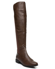 Womens-Winter - Half Zipper Tall Boots-2429677
