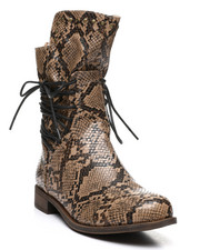 Womens-Holiday - Side Lace Boots-2429934