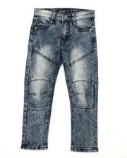 Bottoms - Destructed Knee Treatment Jeans (4-7)-2429193