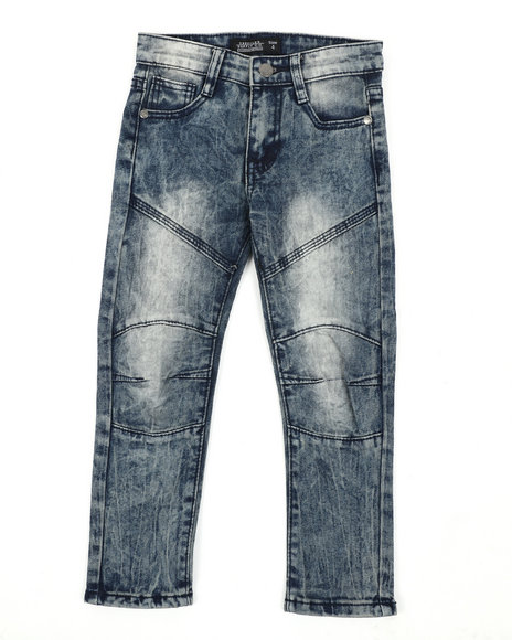 Arcade Styles - Destructed Knee Treatment Jeans (4-7)