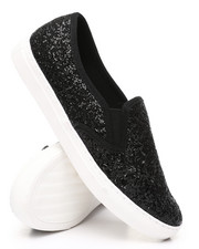 Fashion Lab - Slip-On Glitter Sneakers-2429785